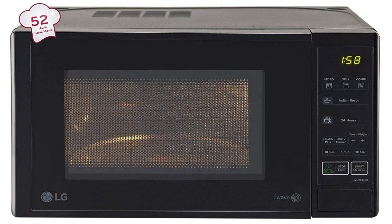 Image of best microwave oven under 8000 from LG