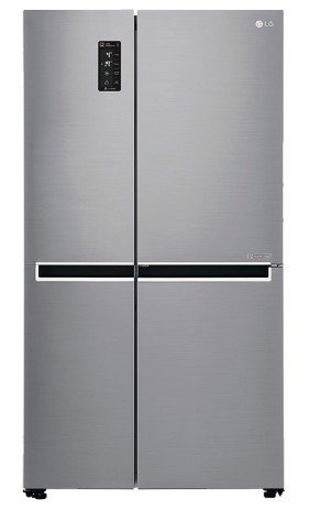 Image of one of the best side by side refrigerators in India from LG