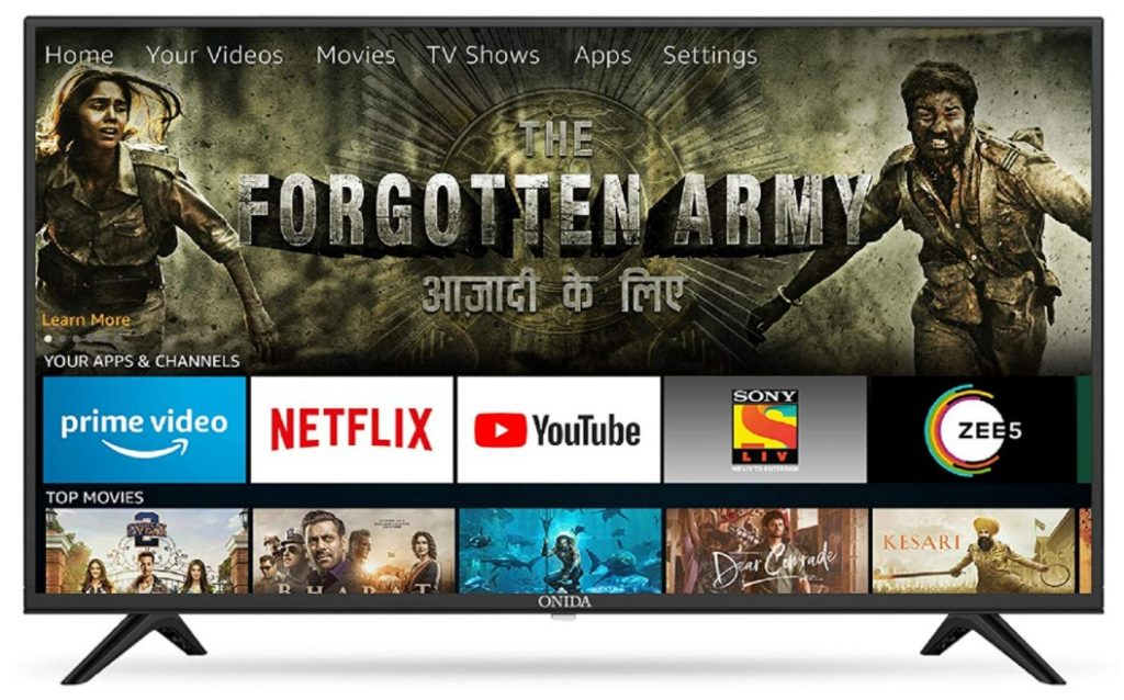 Picture of Onida 32 inch Smart TV under rupees 15000