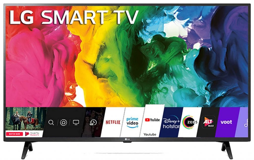 Image of best 43-inch tv under 30000 from LG