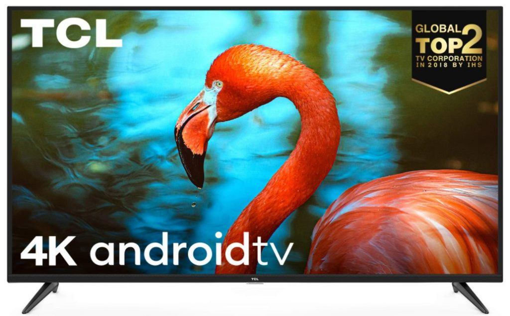 Image of best 43 inch 4k Smart TV from TCL