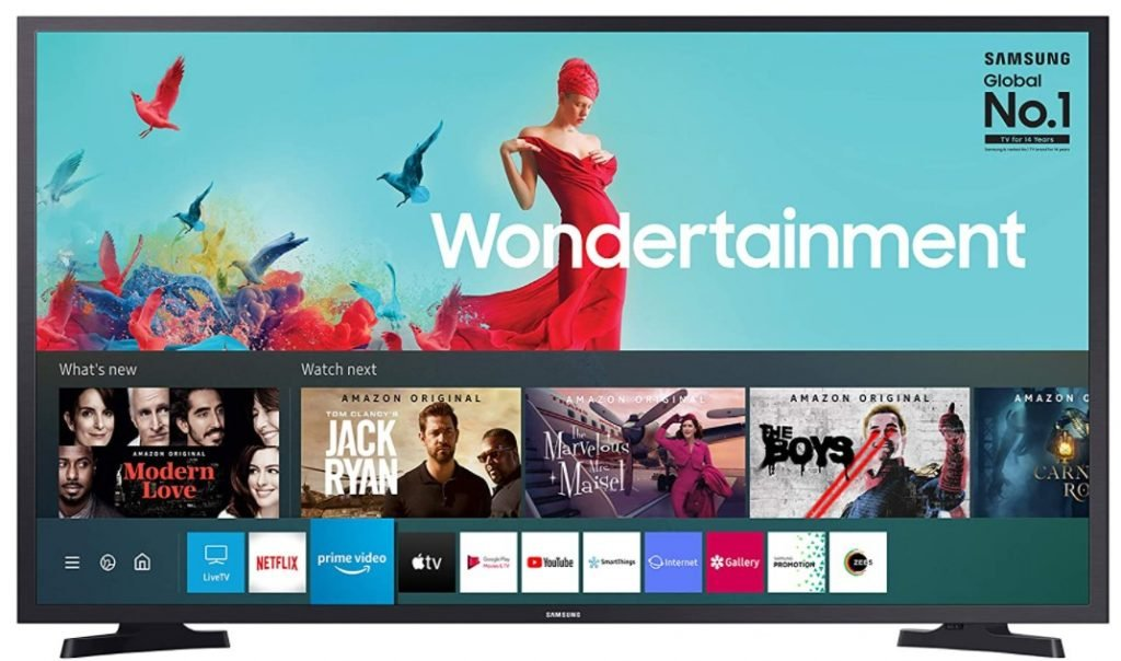 Image of best 43 inch Smart TV from Samsung