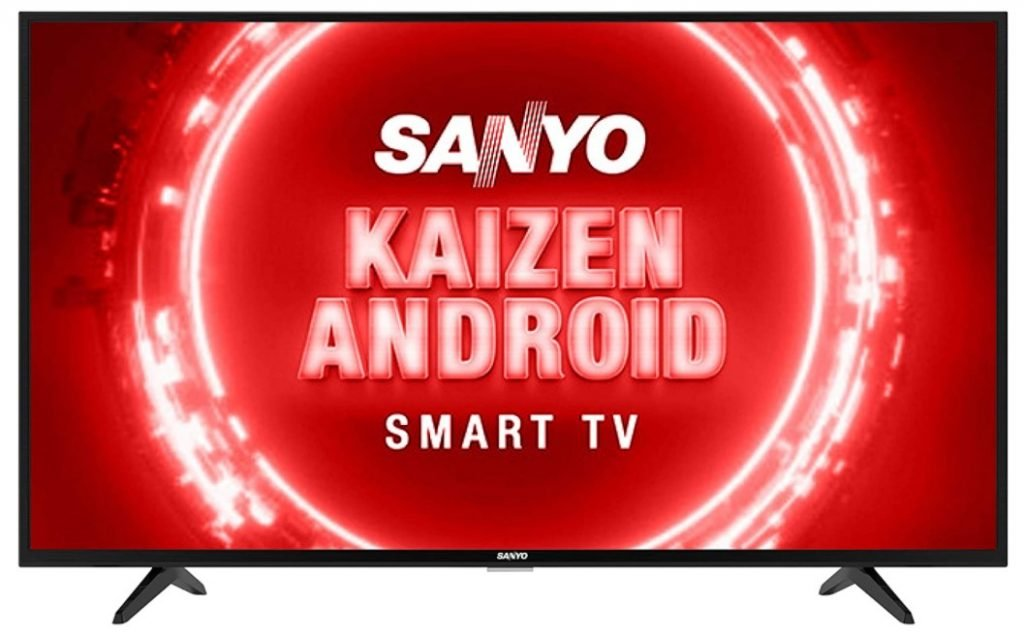 Picture of Sanyo 43-inch Smart TV which is one of the best smart TVs under 30000