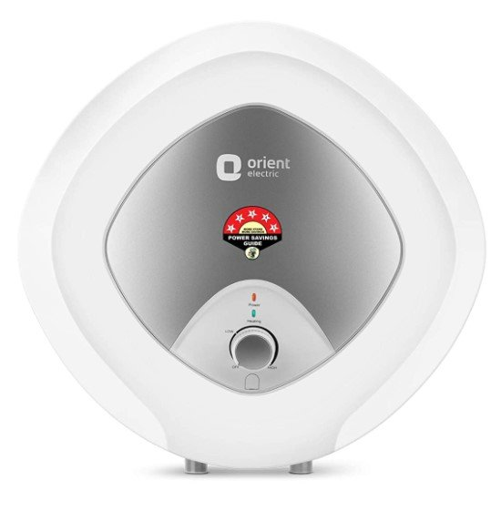 image of Orient Electric Enamour Plus 15L Geyser  one of the best budget geyser under rupees 7000