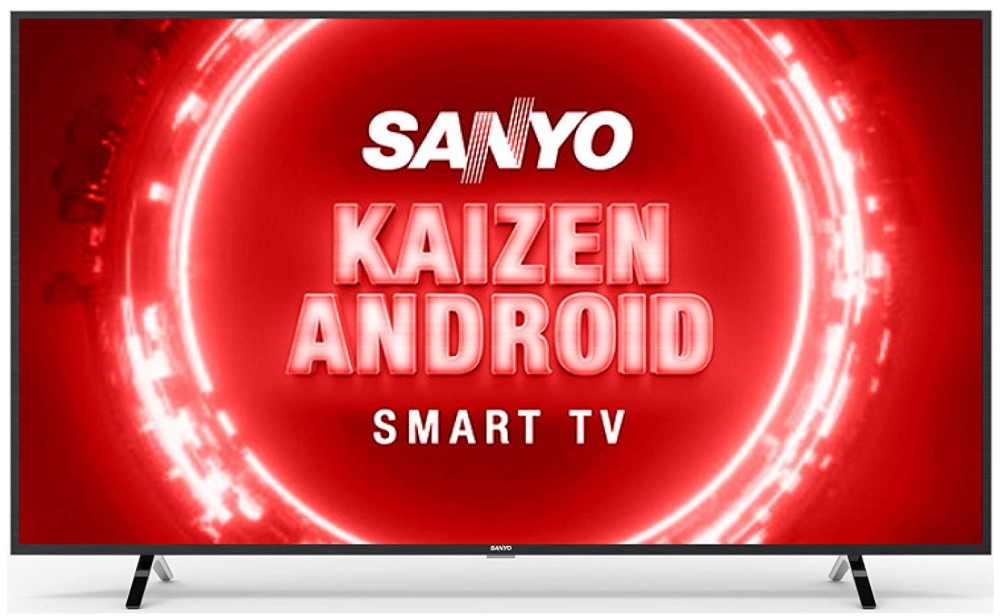 Image of Sanyo 55-inch 4K Smart TV which is one of the best smart TVs under 40000